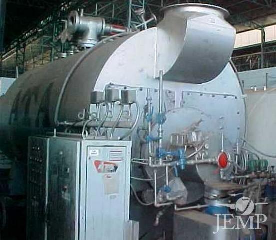 Vaporizador fluido térmico, cap. 1.260.000 kcal/h