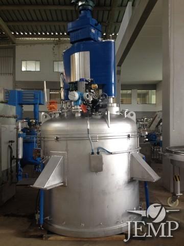 Filtro Nutsche A.I cap. 2.600 lts