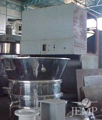 Secador leito fluidizado A.C cap. 300 kg