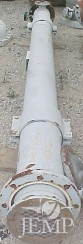 Trocador tubular A.C área 12,3 m2